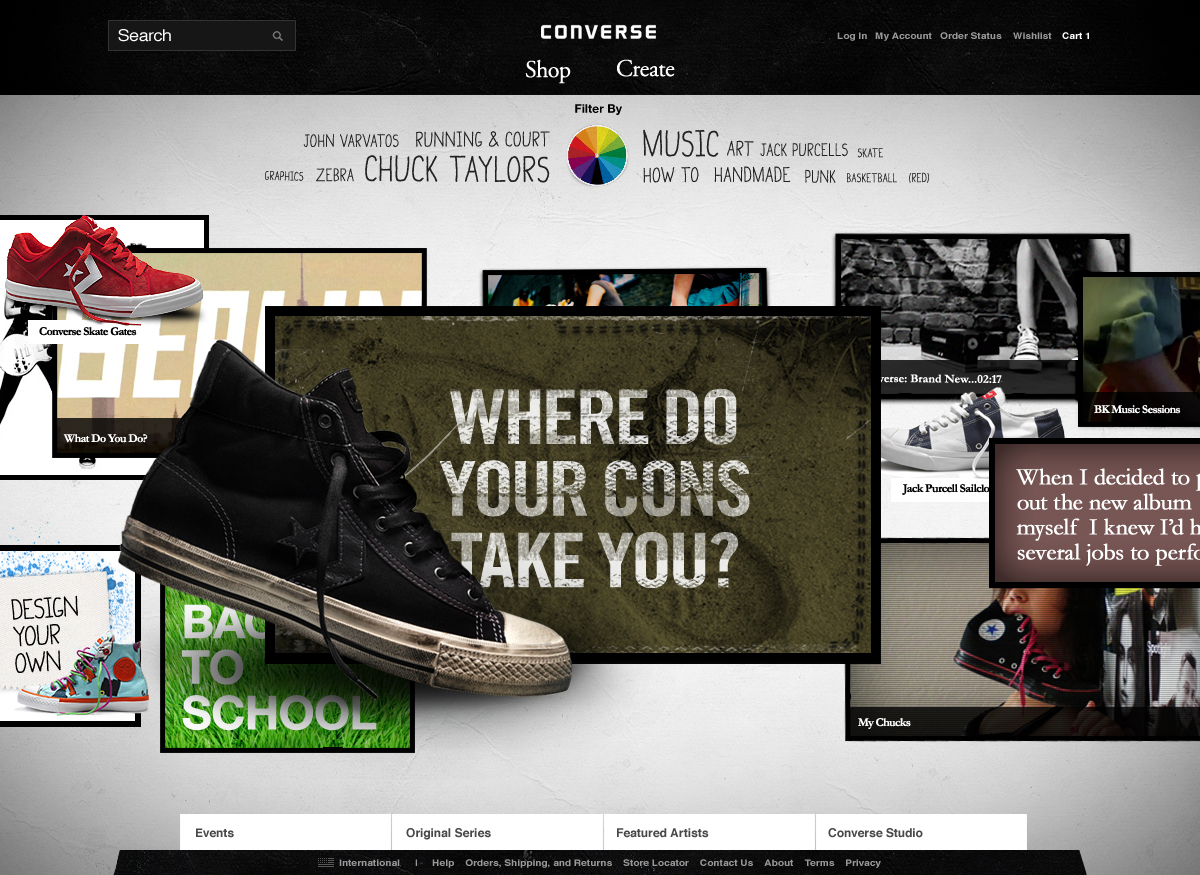 Converse Screenshot #1