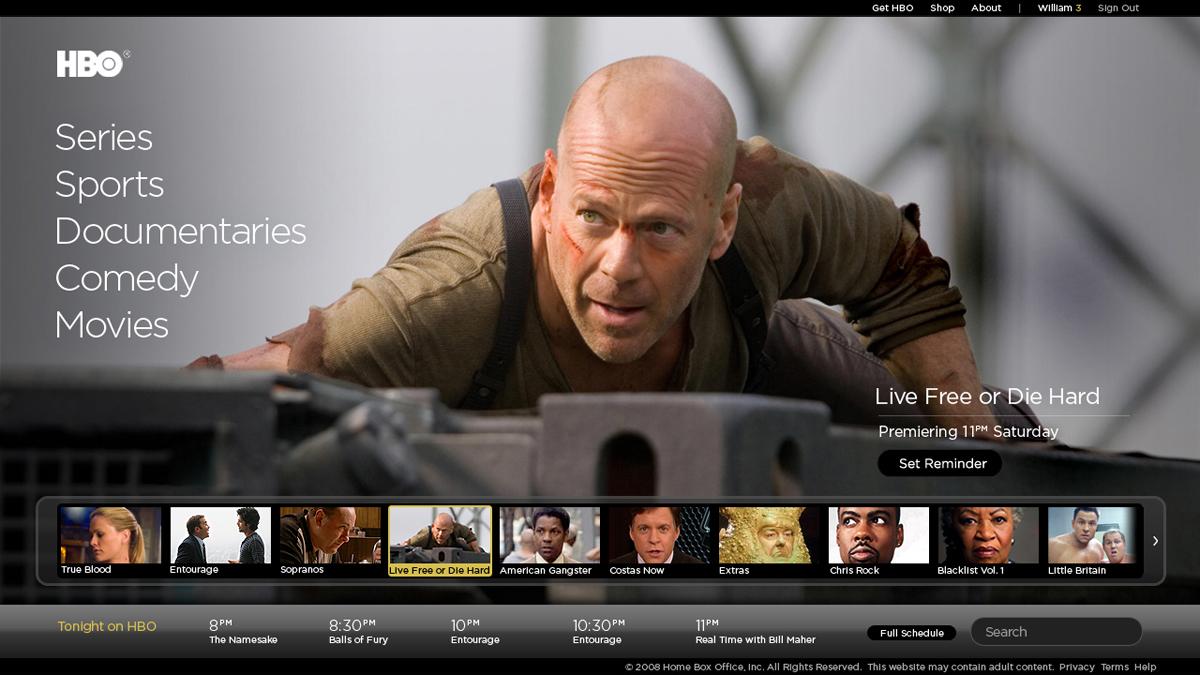HBO Screenshot #1