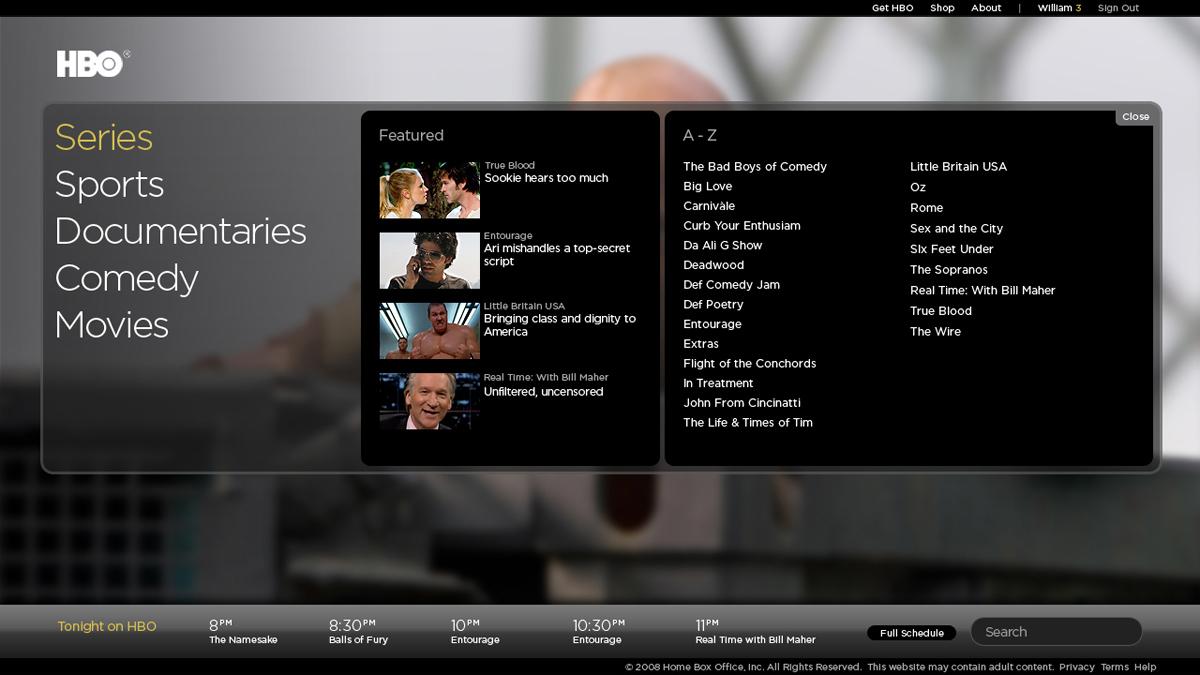 HBO Screenshot #2