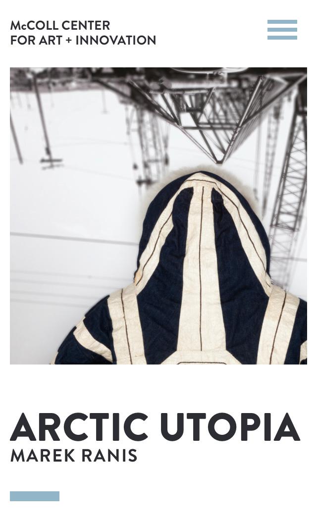 McColl Center for Art + Innovation Screenshot #1