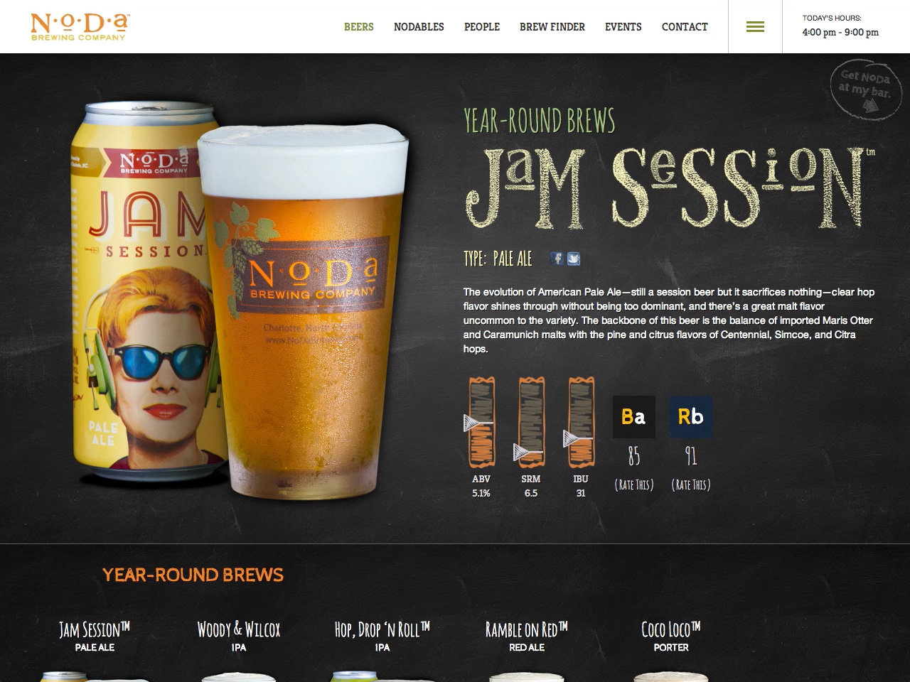 NoDa Brewing Company's Screenshot #4