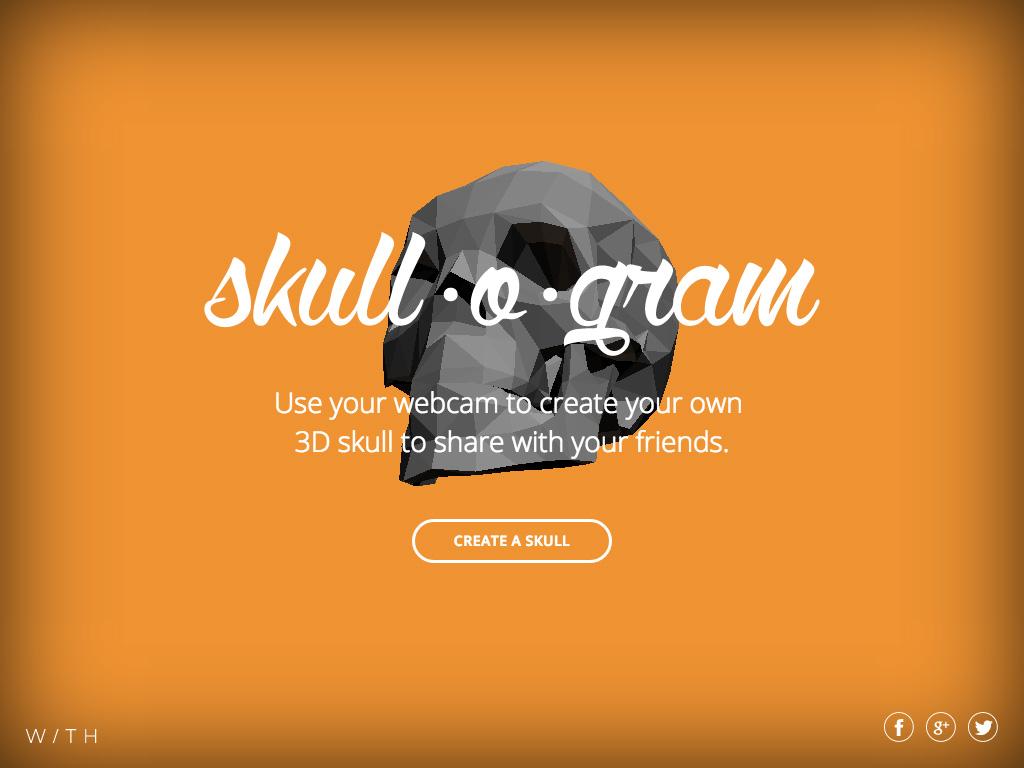 Skull-o-gram Screenshot #1