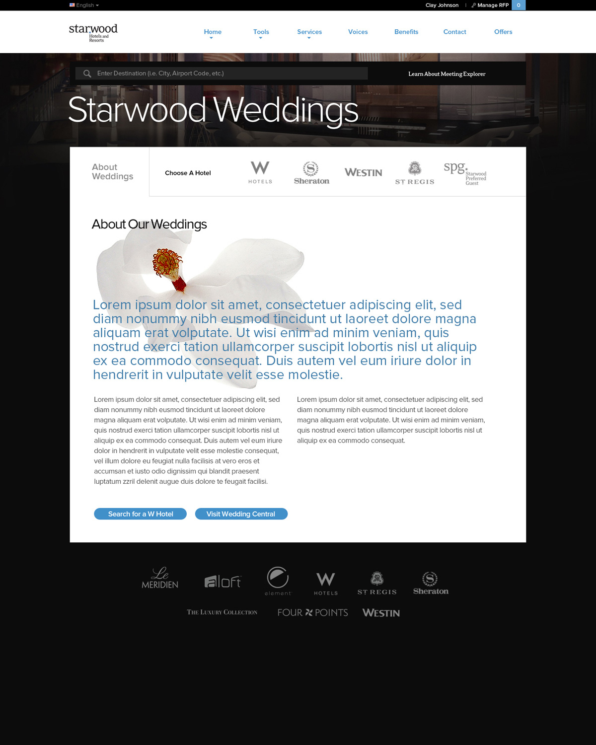Starwood Meetings & Events Screenshot #5
