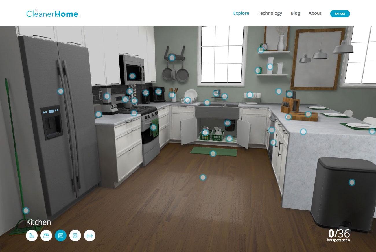 The Cleaner Home Screenshot #2